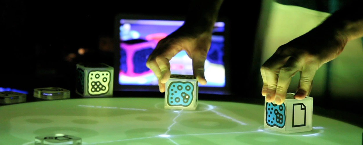 LFS Reactable Set oficial visuals
